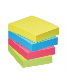 NOTES REPOSITIONNABLES COULEURS ENERGIE POST-IT 38 X 51 MM - BLOC DE 100 FEUILLESréf. 0114-26