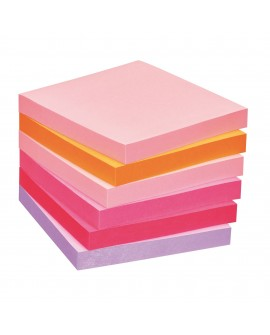 NOTES REPOSITIONNABLES COULEURS PLAISIR POST-IT 76 X 76 MM - BLOC DE 100 FEUILLESréf. 0114-59