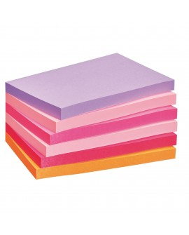 NOTES REPOSITIONNABLES COULEURS PLAISIR POST-IT 76 X 127 MM - BLOC DE 100 FEUILLESréf. 0114-84
