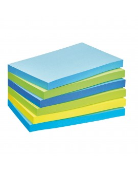NOTES REPOSITIONNABLES COULEURS RÊVE POST-IT 76 X 127 MM - BLOC DE 100 FEUILLESréf. 0116-03