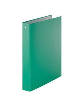 CLASSEUR 4 ANNEAUX CARTON PLASTIFIÉ  A4 - DOS 4 CM COULEURréf. 0169-89