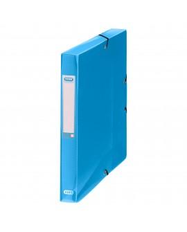 CHEMISE BOX PLASTIQUE  24 X 32 CM DOS 4 CM COULEURS TRANSLUCIDES ASSORTIESréf. 0192-97