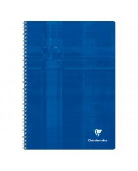 CAHIER SPIRALE   A4 21 X 29,7 CM PETITS CARREAUX 100 PAGESréf. 0216-25