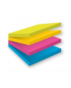 BLOC CUBE REPOSITIONNABLE EASY SELECT POST-IT® 76 X 76 MM - BLOC DE 300 FEUILLES  réf. 0238-62