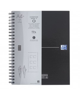 CAHIER SPIRALES  EUROPEANBOOK A4+ 22,2 X 29,8 CM - 5 X 5 - 240 PAGES, réf. 0238-99