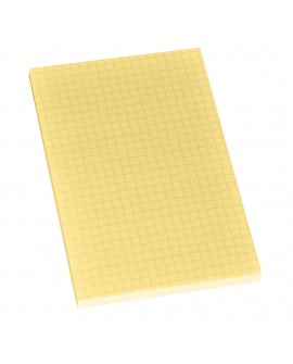BLOC-NOTES JAUNE QUADRILLÉ POST-IT 102 X 152 MM - BLOC DE 100 FEUILLESréf. 0302-62