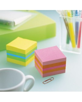 BLOC CUBE COULEURS POST-IT 51 X 51 MM - BLOC DE 400 FEUILLESréf. 0309-15