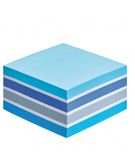 BLOC CUBE COULEURS AQUARELLE POST-IT 76 X 76 MM - BLOC DE 450 FEUILLESréf. 0314-40