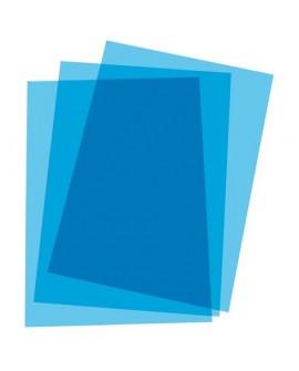 COUVERTURE DE RELIURE PLASTIQUE 20/100E  COULEUR - PAQUET DE 100réf. 0439-15