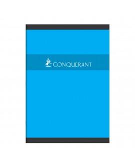 CAHIER PIQUÉ CONQUÉRANT SEPT A4 21 X 29,7 CM PETITS CARREAUX 96 PAGESréf. 0518-61