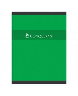 CAHIER PIQUÉ CONQUÉRANT SEPT A4+ 24 X 32 CM GRANDS CARREAUX 96 PAGESréf. 0520-75