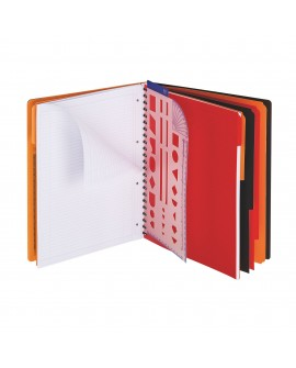 CAHIER SPIRALES  MANAGER BOOK A4+ 160 PAGESréf. 0643-67