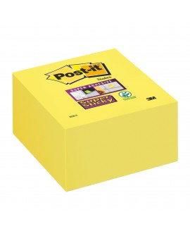 BLOC CUBE REPOSITIONNABLE SUPER  POST-IT 76 X 76 - BLOC DE 350 FEUILLESréf. 0764-47