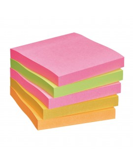 NOTES COULEURS CAP TOWN SUPER  POST-IT 76 X 76 MM - BLOC DE 90 FEUILLES  réf. 0764-49