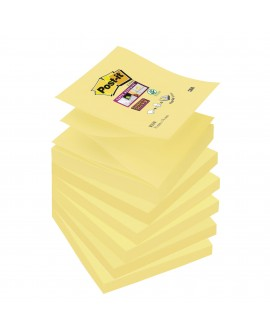 Z-NOTES SUPER  POST-IT 76X76 MM JAUNE - BLOC DE 90 FEUILLESréf. 0768-97