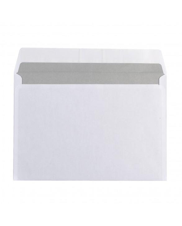 Enveloppe 162 X 229 Mm Budget 80 G Sans Fenêtre Blanche Boîte De