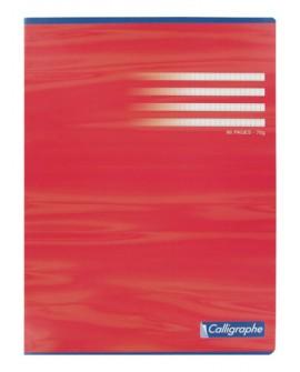 CAHIER PIQUÉ  A4+ 24 X 32 CM PETITS CARREAUX 96 PAGESréf. 0904-76
