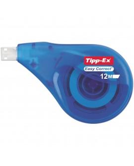 CORRECTEUR À SEC ROLLER TIPP-EX EASY CORRECT LATÉRALE LARGEUR 4,2 MM - LONGUEUR 12 M  réf. 0908-49