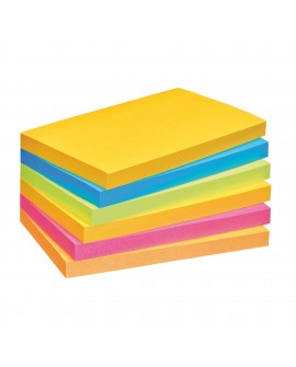 NOTES COULEURS RIO SUPER  POST-IT 76 X 127 MM - BLOC DE 90 FEUILLES  réf. 0933-56