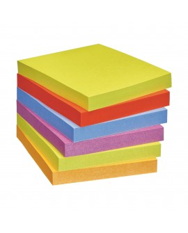 NOTES COULEURS  SUPER  POST-IT 76 X 76 MM - BLOC DE 90 FEUILLES  réf. 0933-57