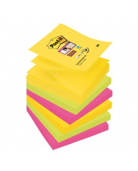 Z-NOTES COULEURS RIO SUPER  POST-IT 76 X76 MM - BLOC DE 90 FEUILLESréf. 0934-56